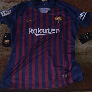 New Nike Rakuten Barcelona Jersey
